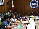Consultation Meeting with South Cotabato Governor Daisy P. Avance-Fuentes. 2 July 2015