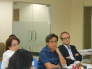 February 24, 2014: TWG meeting with Director Trovela/DILG